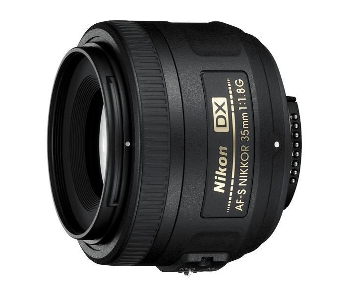 Nikon AF-S DX NIKKOR 35mm f/1.8G Lens - the lens I use for food photography with the Nikon D3300