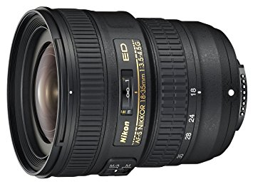 Nikon AF-S FX 18-35mm f/3.5-4.5G ED Zoom Lens - the lens I use for wide-angle shots and for landscape photos