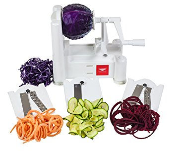 Paderno Spiralizer - inexpensive spiralizer that I use to spiralize veggies