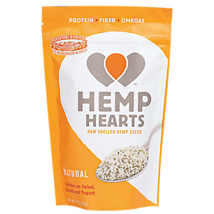 Hemp Hearts - one of my favorite sources of proteins