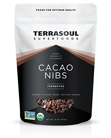 Raw Cacao Nibs - nature's finest - i use these to top desserts, oatmeals, and smoothies