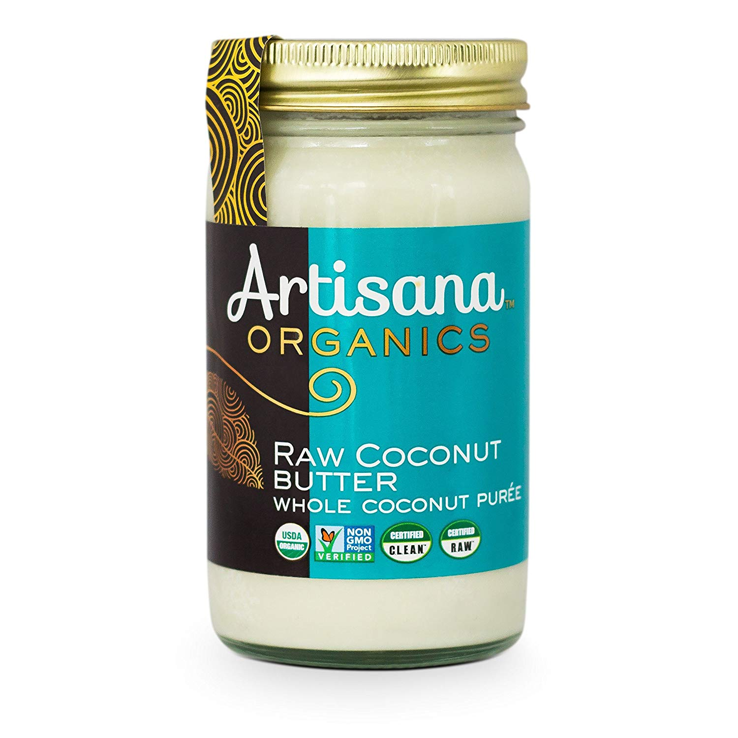 Organic Raw Coconut Butter - liquid goal and a great substitute for oil in baking