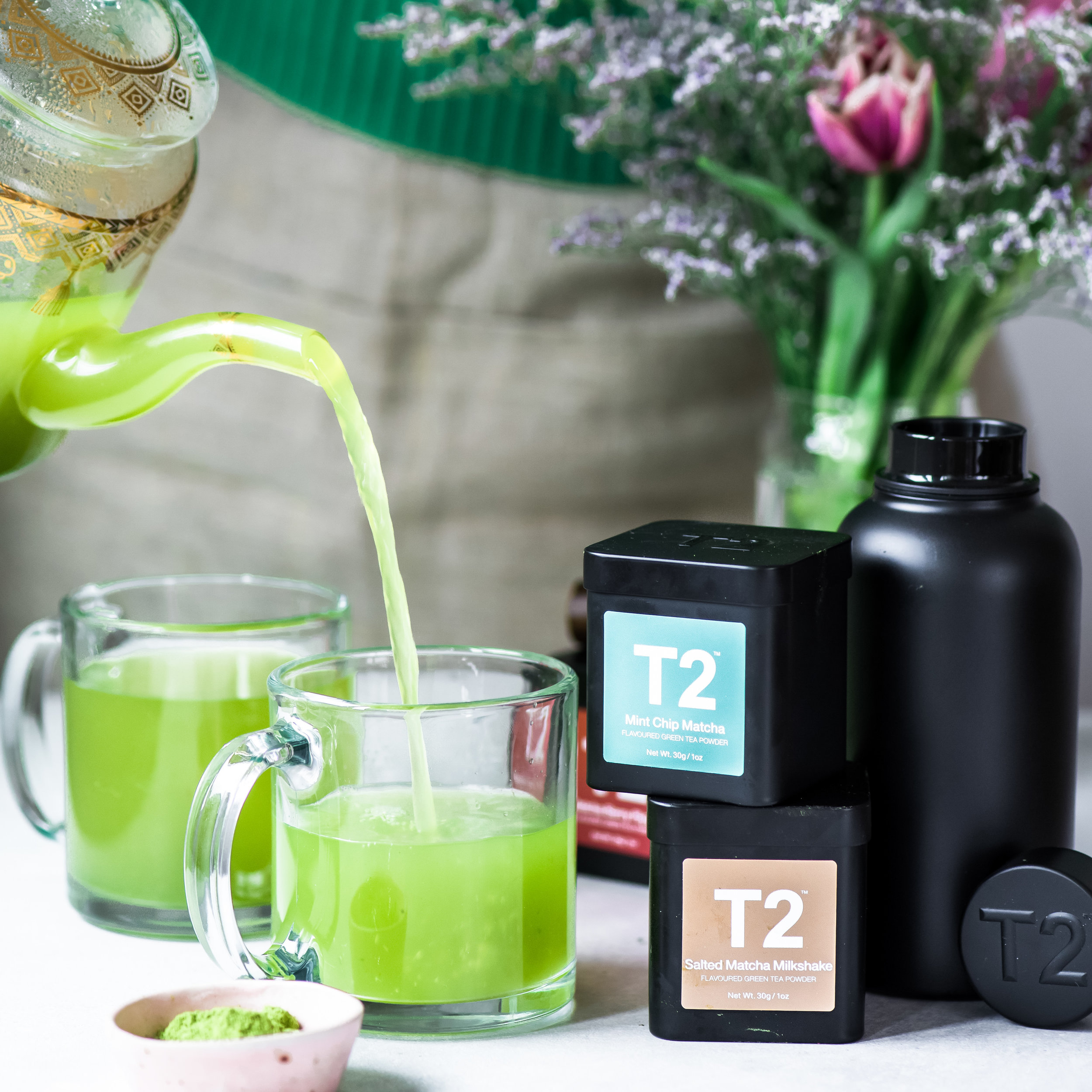 This post is sponsored by  T2 Tea