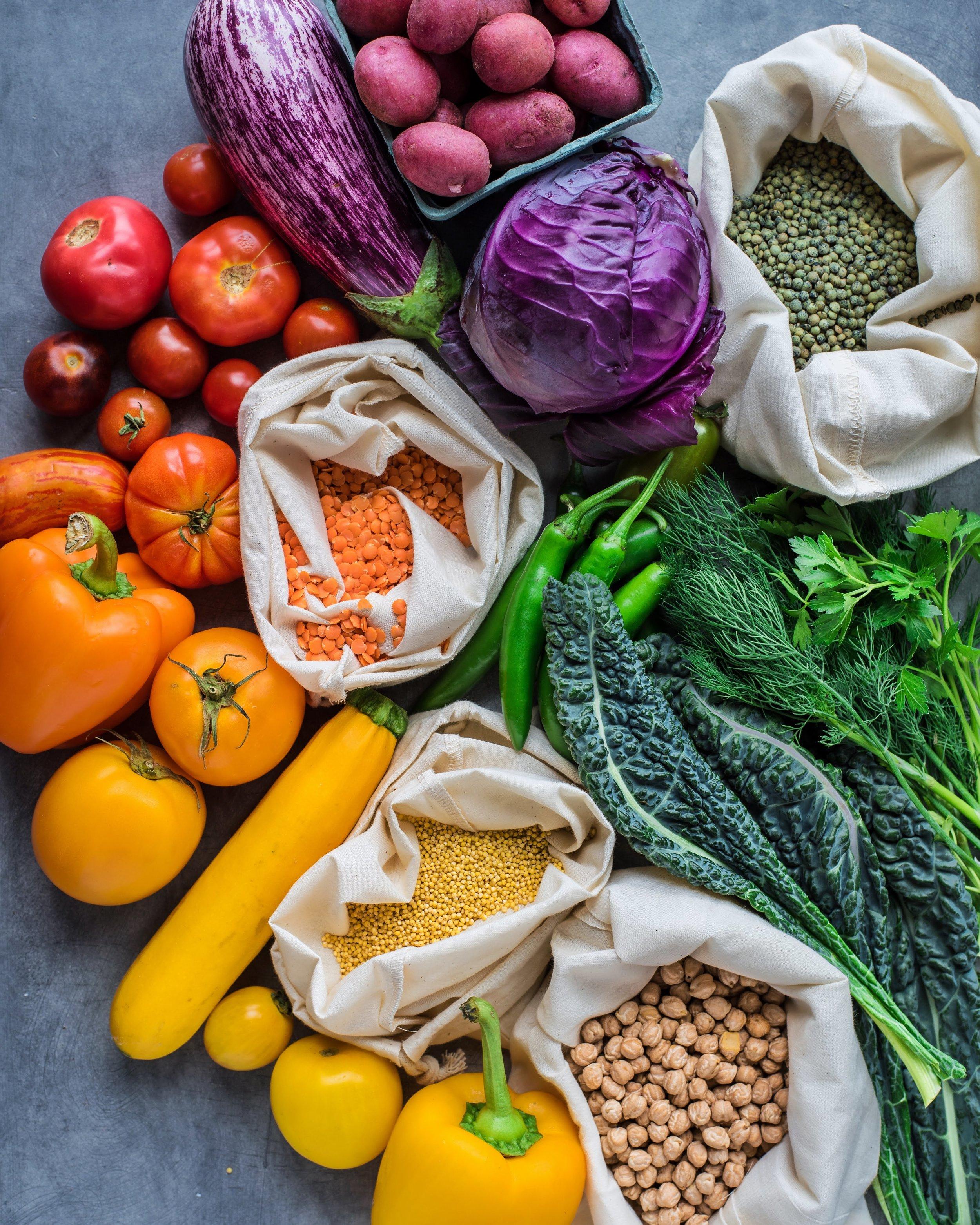 7-day vegan challenge