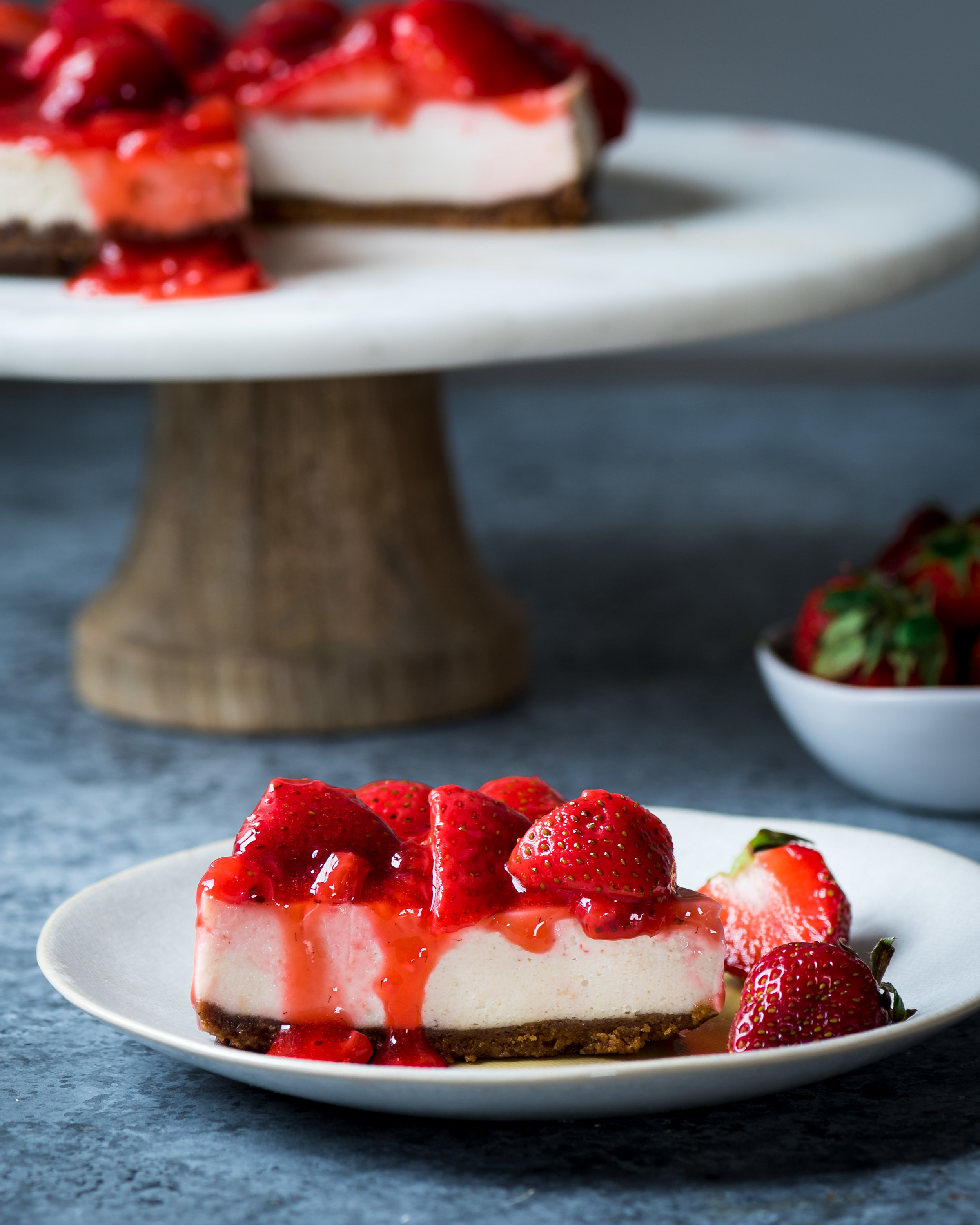 Vegan Instant Pot Cheesecake. How to Bake a Cheesecake in the Instant Pot.