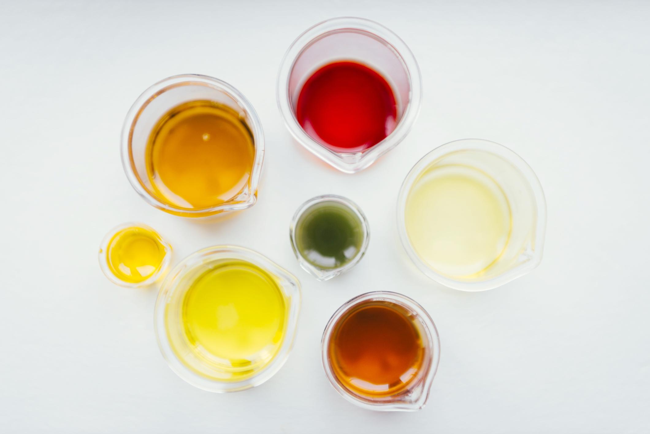 Testing and mixing various potions