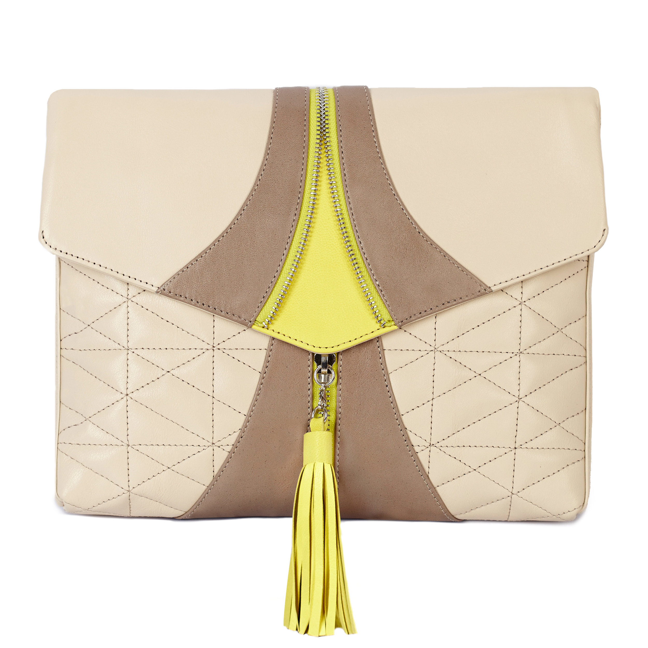 Luxe Beige | Soft Brown +Electric Daffodil.  - $445.00