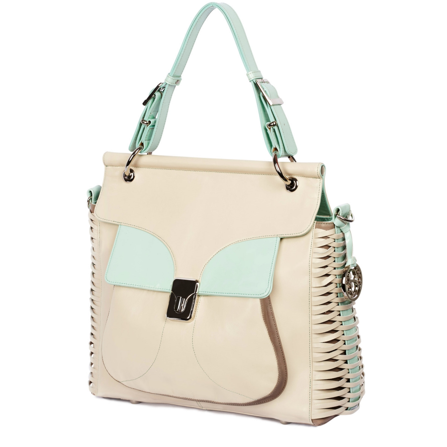 Luxe Beige | Soft Brown +Dazzling Mint - $795.00