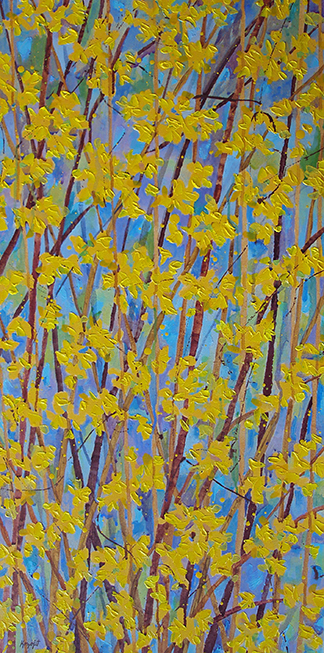 Forsythia Series IV