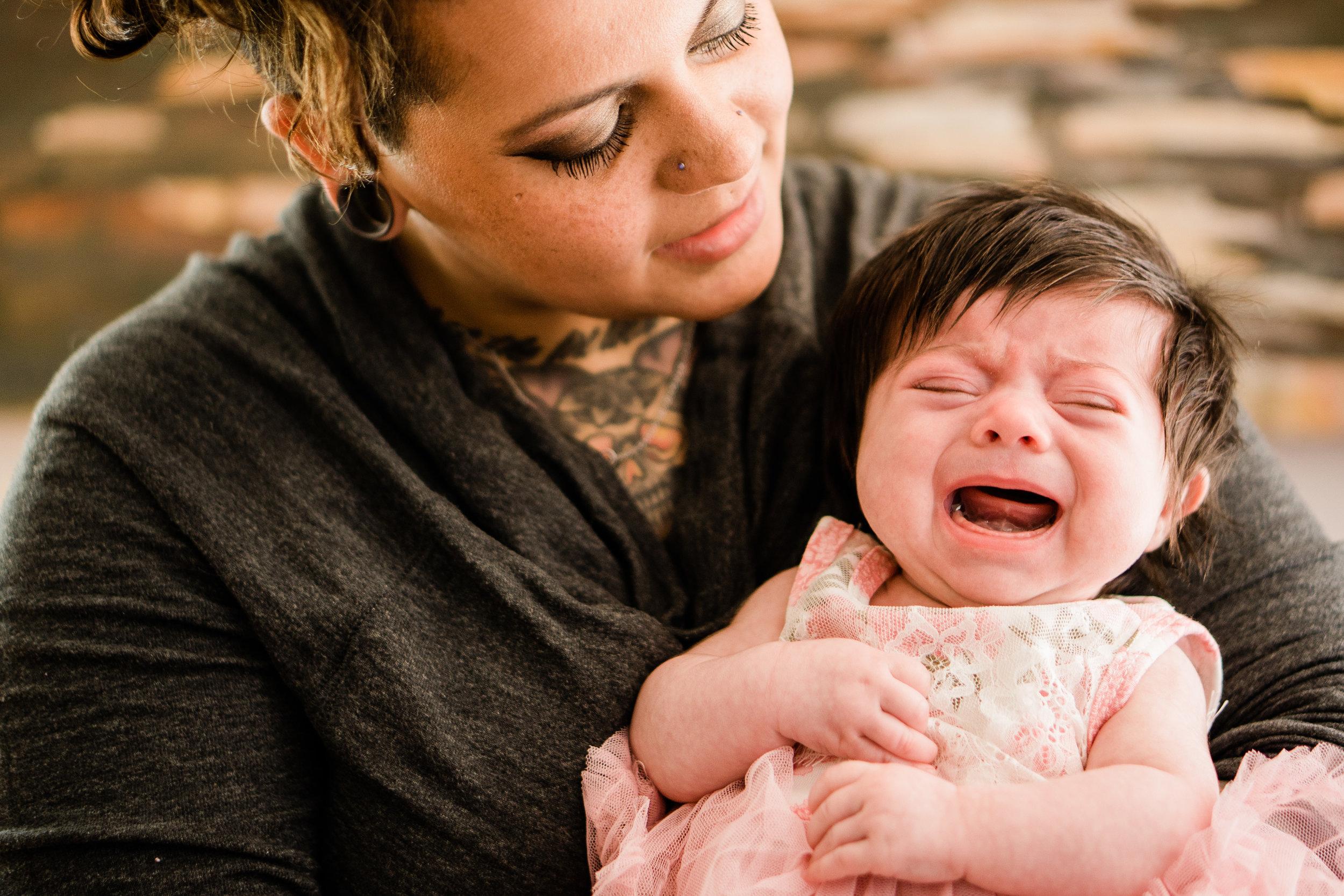crying freya newborn