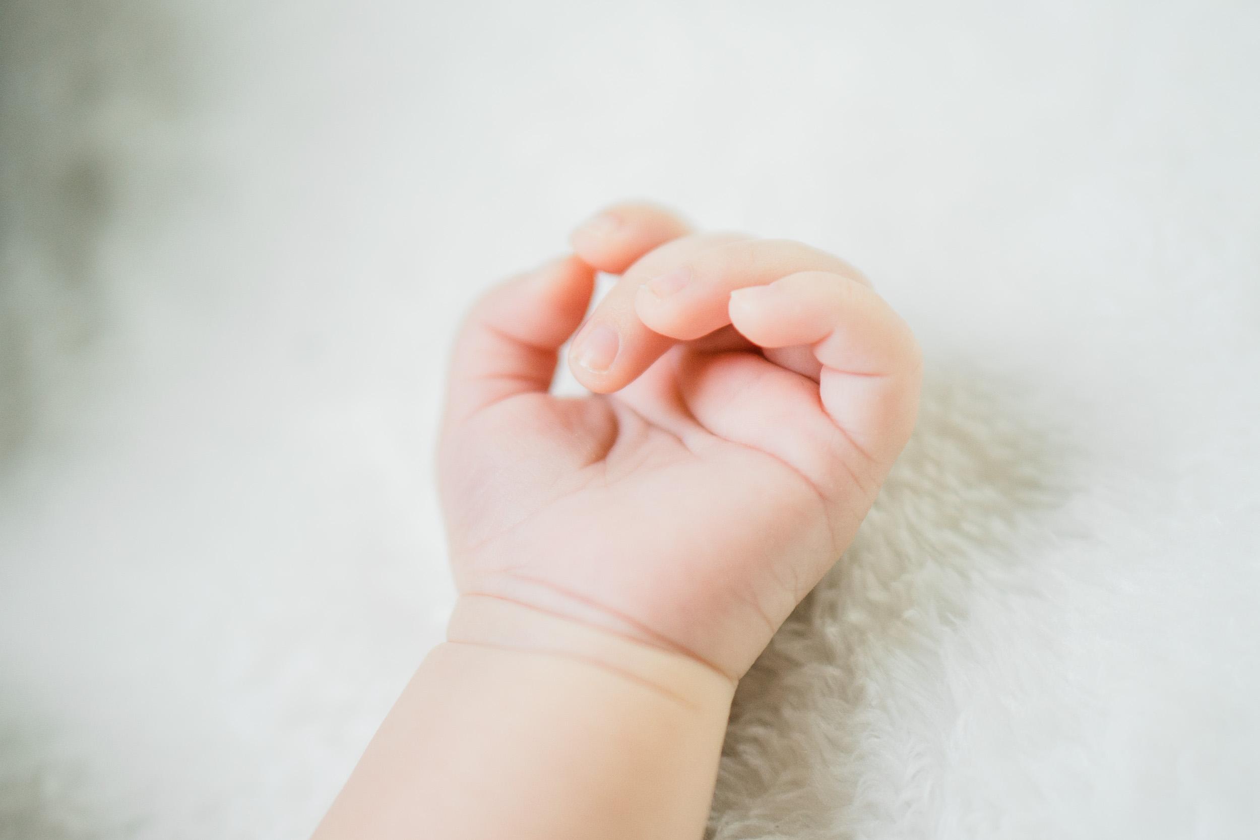 little baby hand