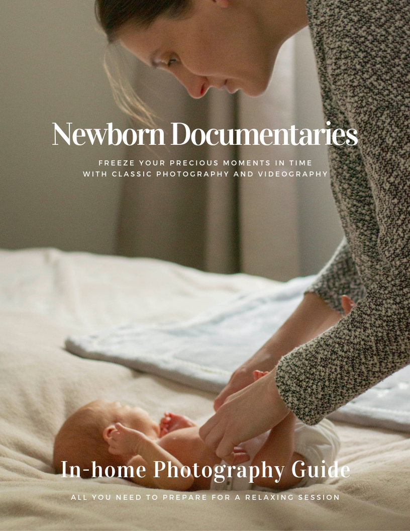 Guide to your newborn session