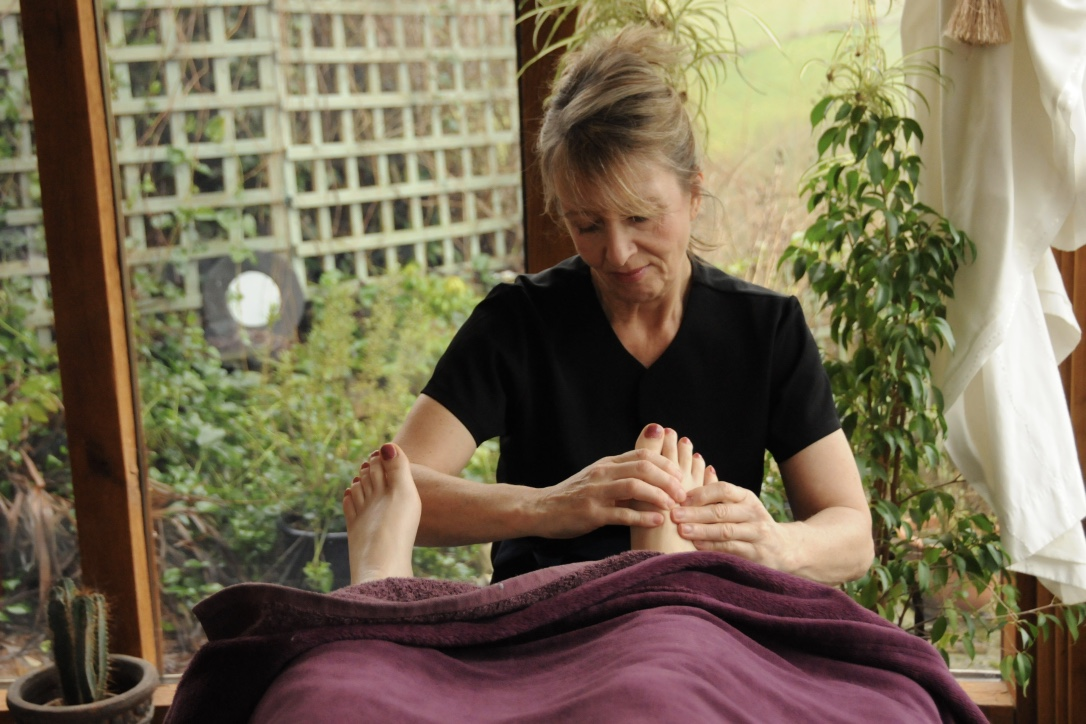 Reflexology in The Garden Room