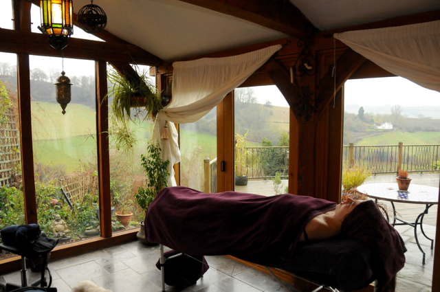 Aromatherapy in The Garden Room