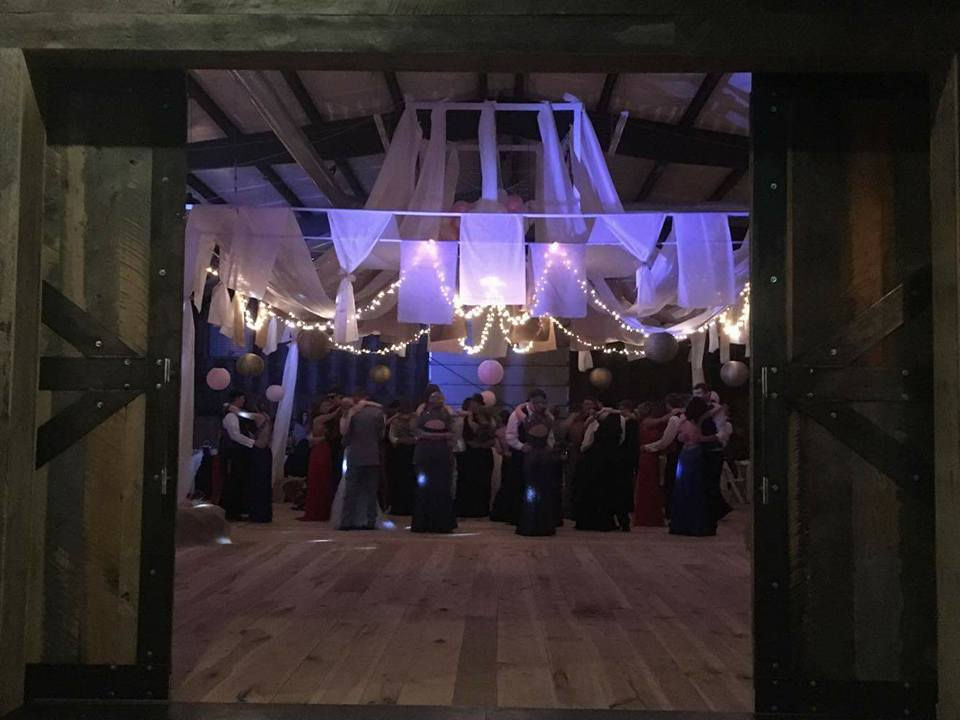 Prom Barn Party Venue
