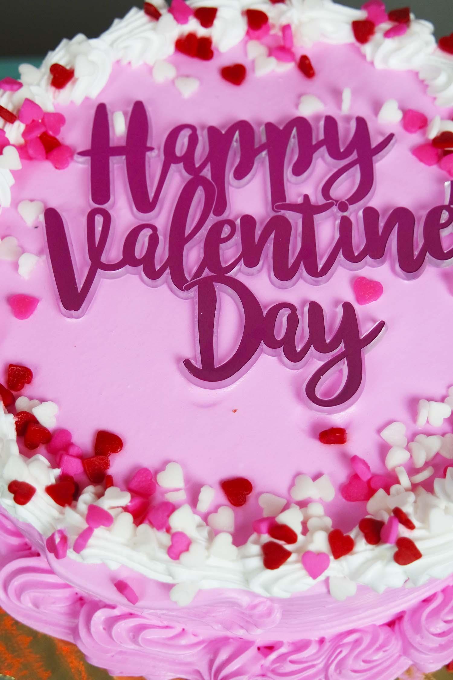 Valentines Cake NK