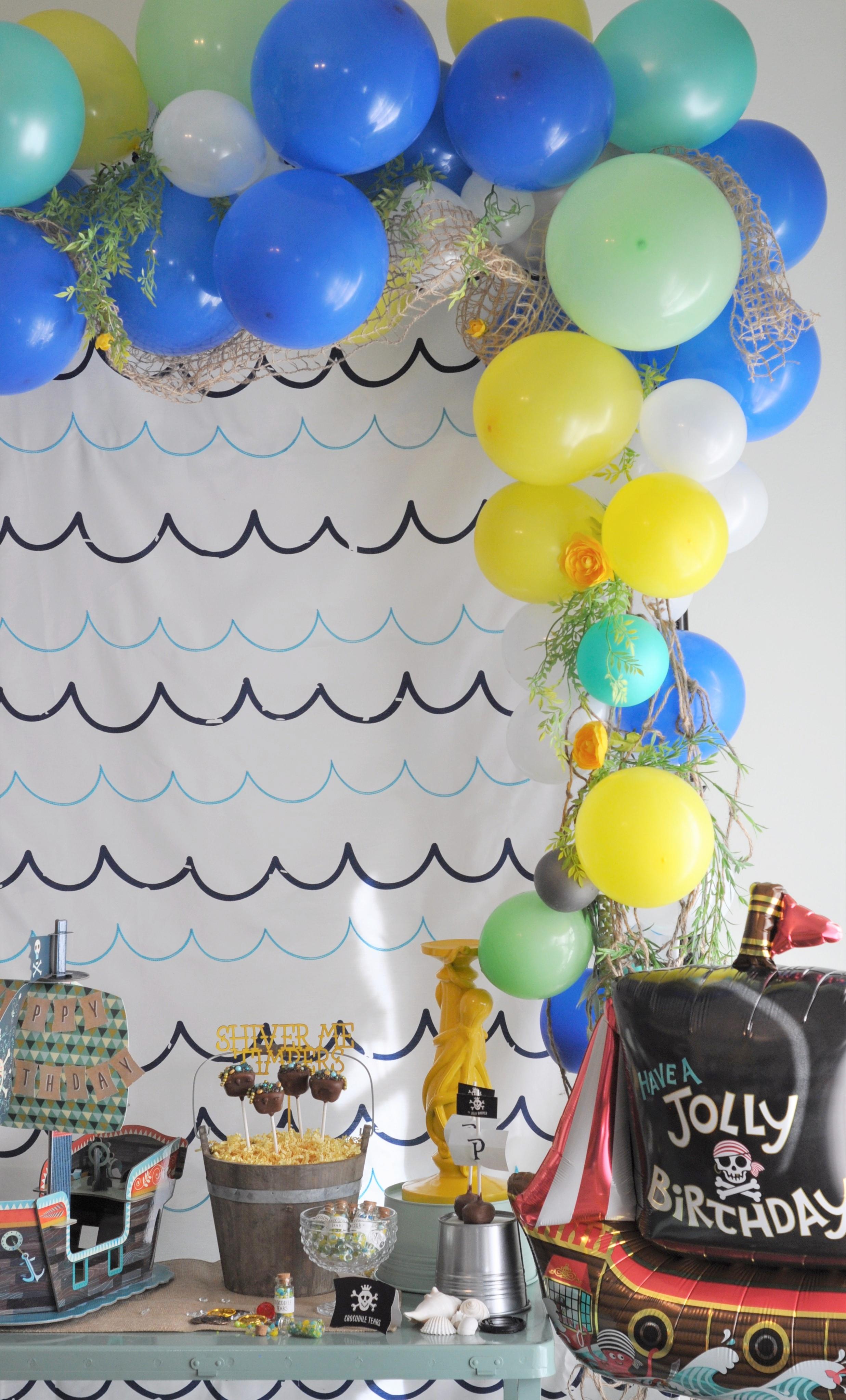 Pirate Balloon Garland.JPG