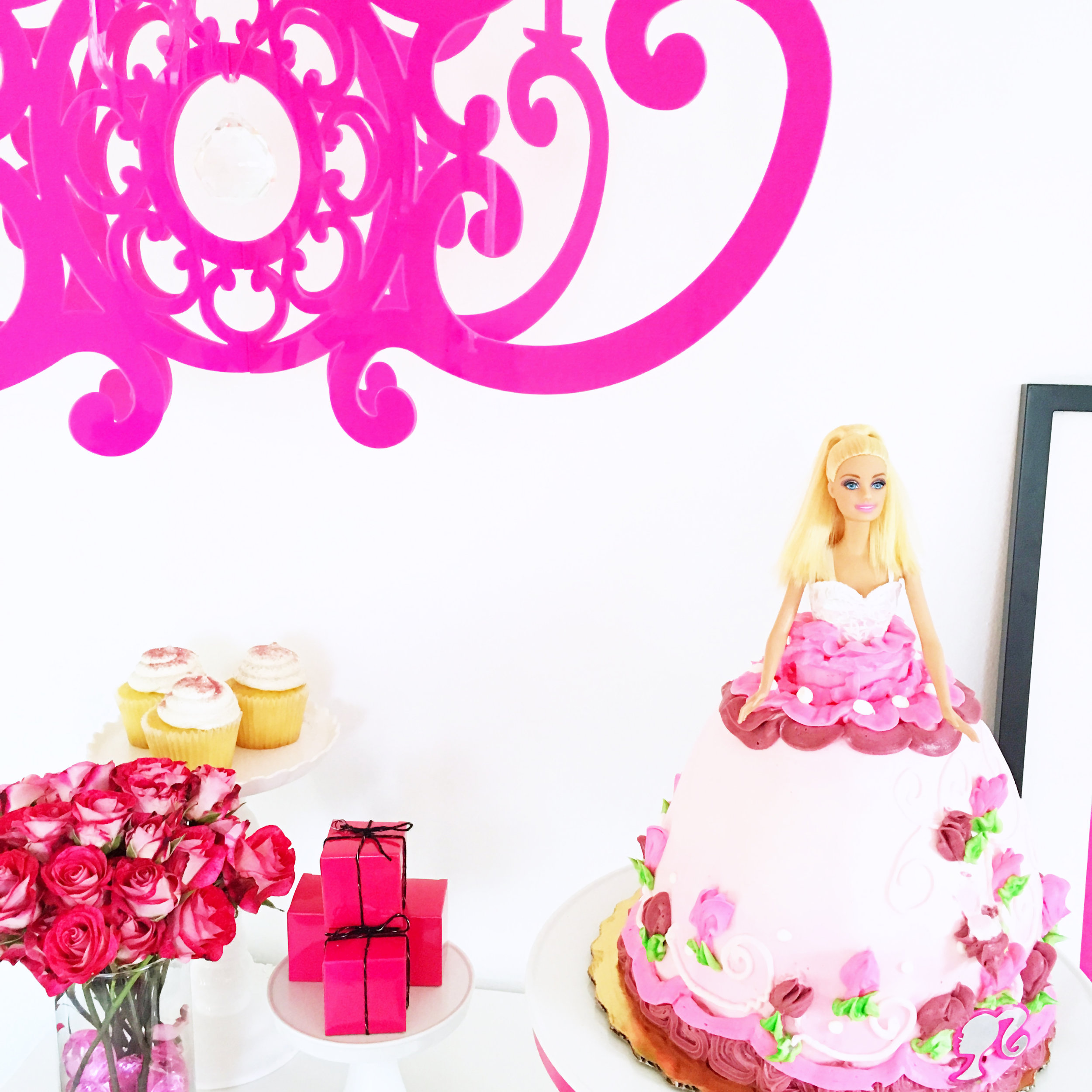 Barbie Cake in Pink