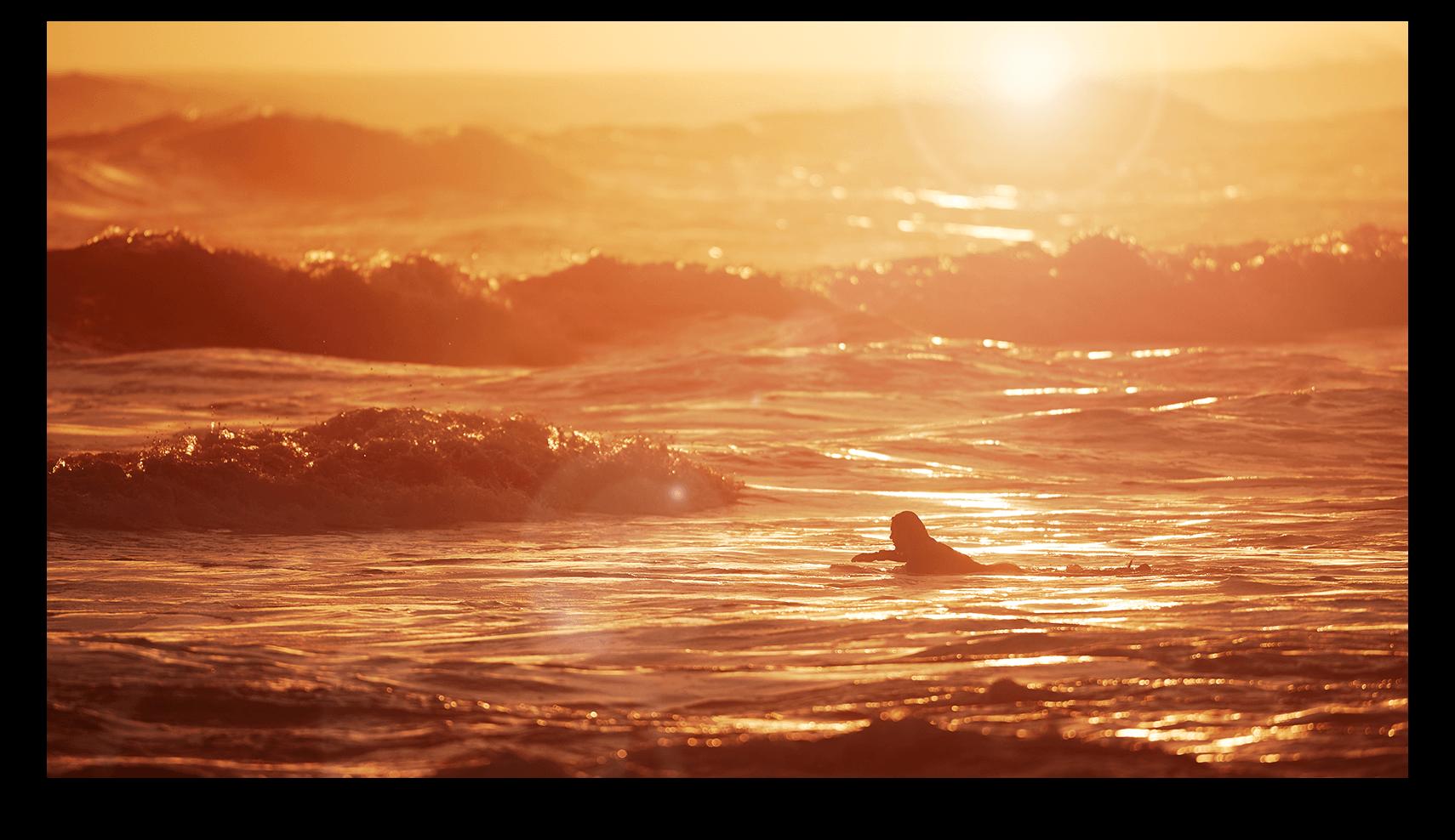 gunnamatta surf sunset