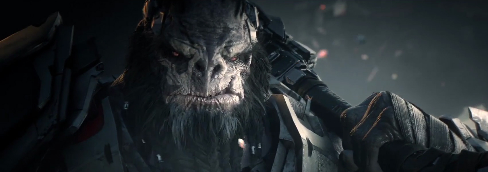 ATRIOX - Leader of the Banished, Atriox is perhaps the smartest, if not the strongest Jiralhanae commander known to humanity.