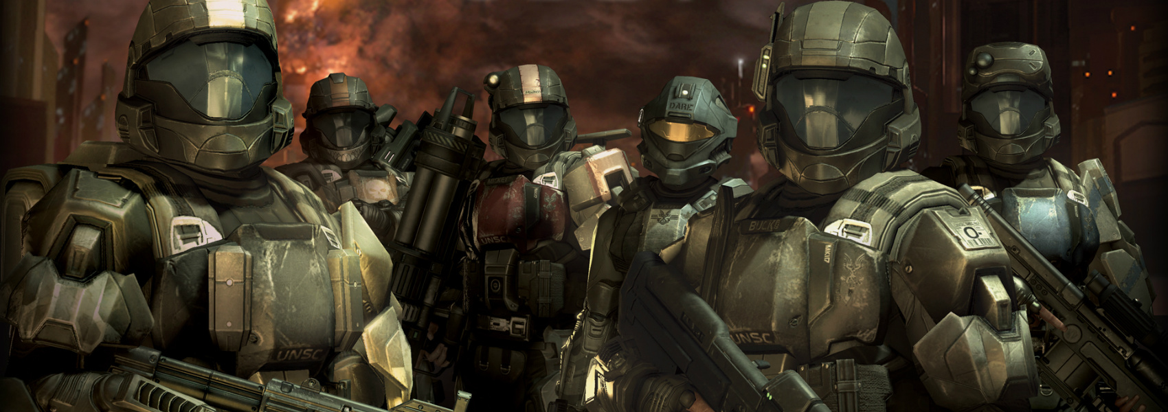 ALPHA-NINE - Alpha-Nine was originally a squad of ODSTs during the Human-Covenant War, but all received augmentations to become Spartan-IVs between the end of the war and the Rule of the Created.