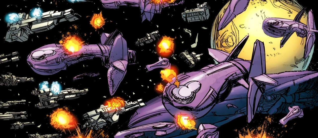 BATTLE OF SIGMA OCTANUS IV - The second space battle over Sigma Octanus IV, July 18th, 2552.
