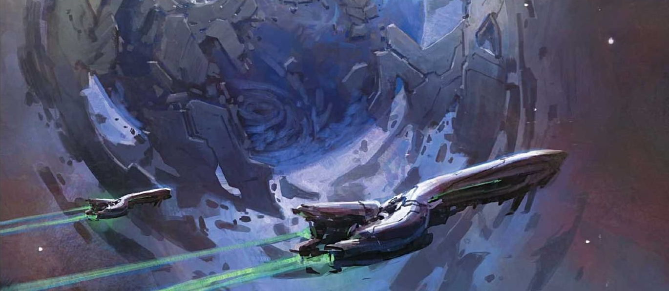 DISCOVERY OF THE USSANS - Shield World 0673, also known as the Refuge, was the home of a splinter group of Sangheili known as the Ussans after they left the Covenant in 851 BCE.