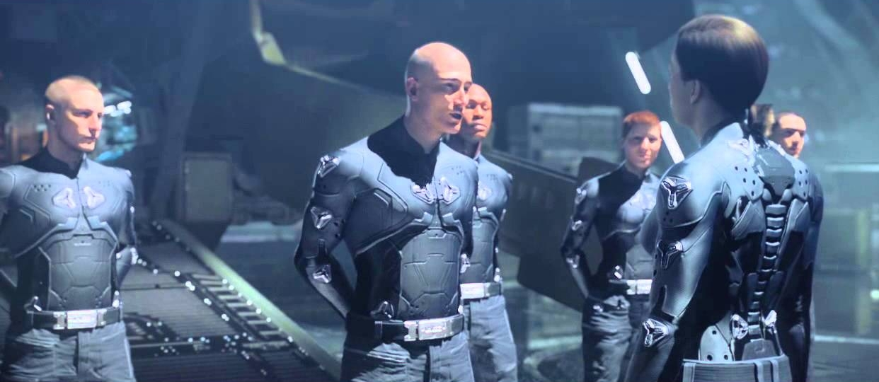 REQUIEM CAMPAIGN - Commander Sarah Palmer greeting Fireteam Majestic on their arrival to the UNSC Infinity, February 2558.