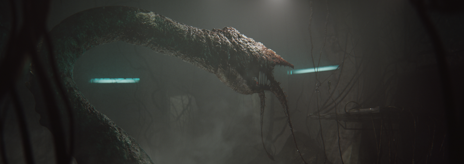 GRAVEMIND - The Gravemind is the compound intelligence that controls the Flood, sharing a consciousness with all its parts, including those entities that the Flood has consumed.