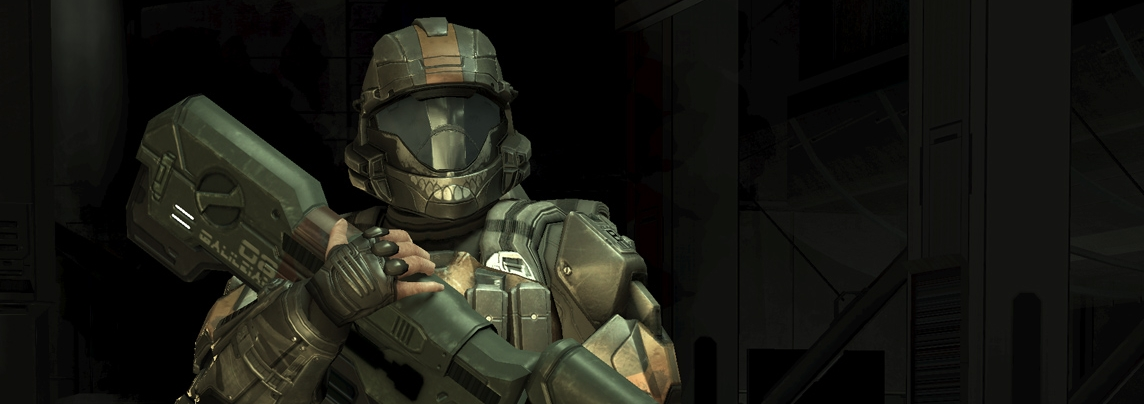TAYLOR MILES - Going by Dutch, Miles served in Alpha-Nine under Edward Buck as an ODST during the war and later as a Spartan-IV during the Rule of the Created.