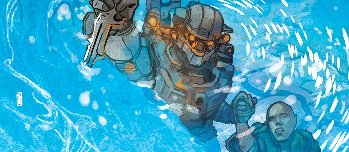LONE WOLF ISSUE #3 - Introducing the third issue of the latest Halo comic, featuring Linda-058 on a solo mission without the help of Blue Team.