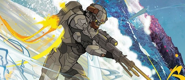 LONE WOLF ISSUE #4 - Introducing the final issue of the latest Halo comic, featuring Linda-058 on a solo mission without the help of Blue Team.