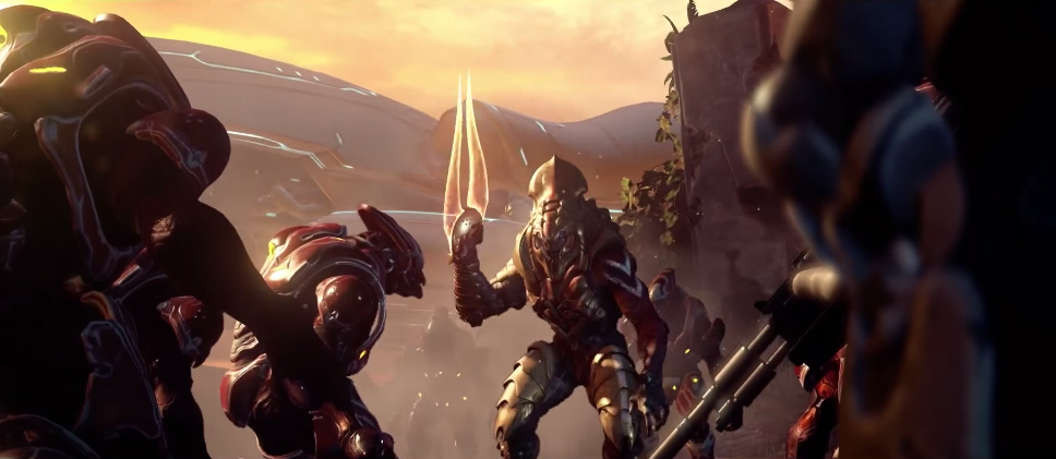 BLOODING YEARS - Thel 'Vadam leads of the Swords of Sanghelios during the Battle of Sunaion, October 2558.