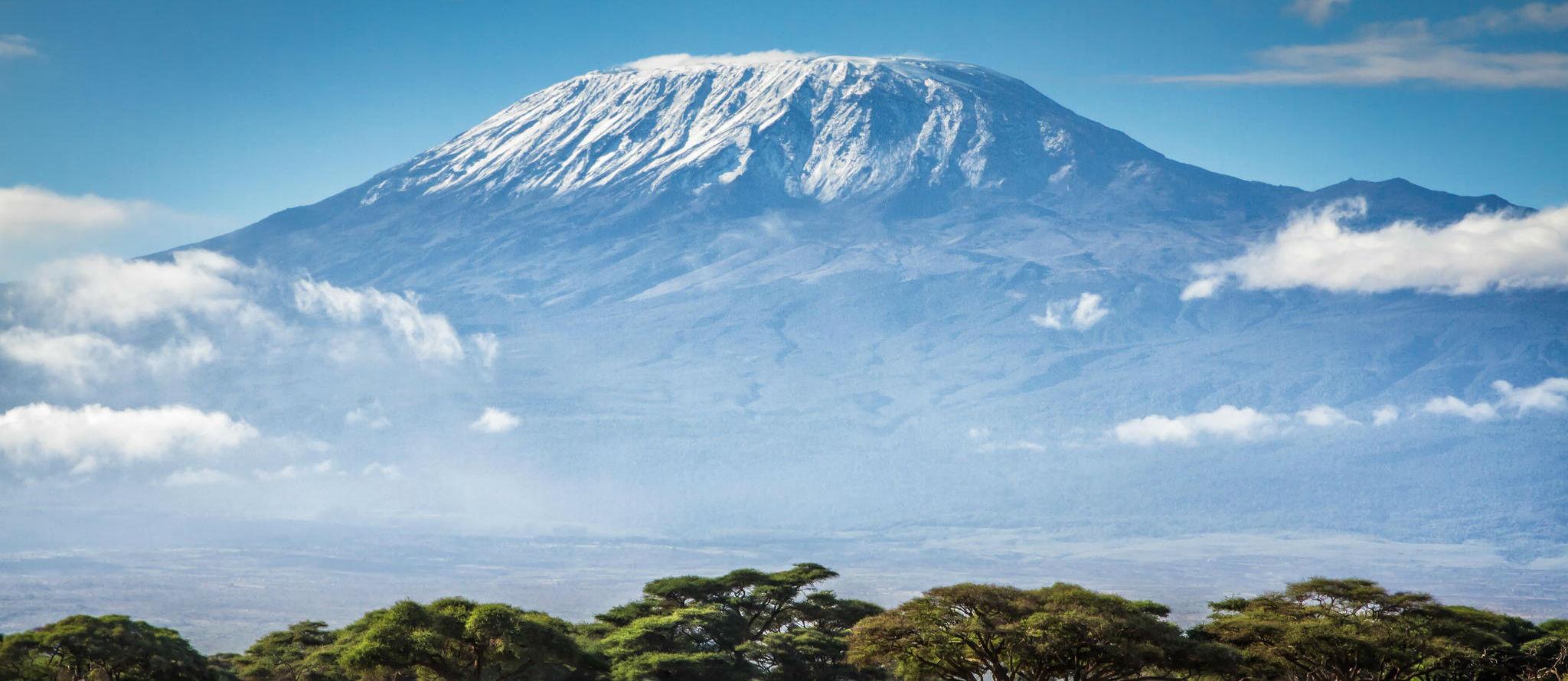 MISSION TO MOUNT KILIMANJARO - Mount Kilimanjaro, as seen from Tanzania, c. 2016.