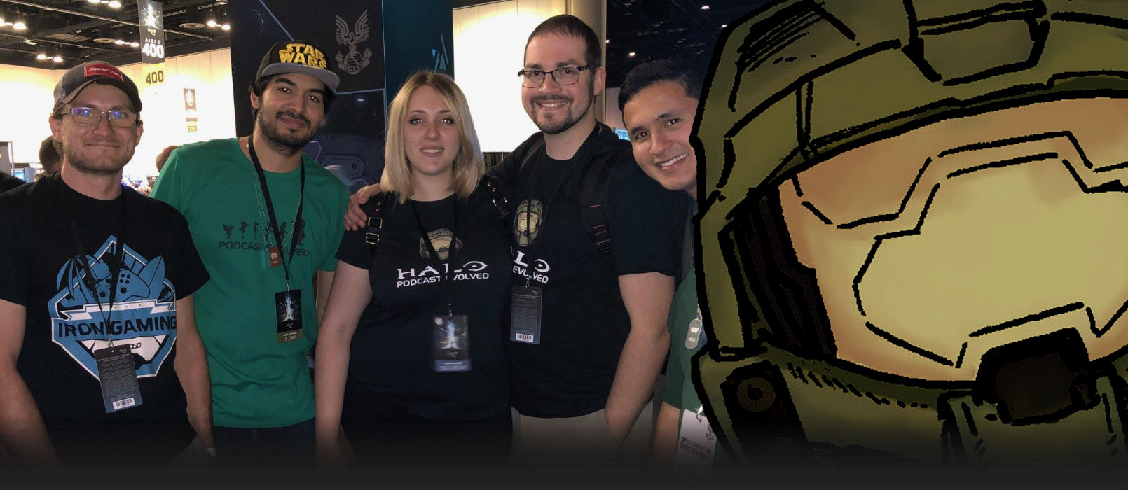Evolved Visits • 2017 - Community showcase of member meet-ups, Halo events, and tournaments