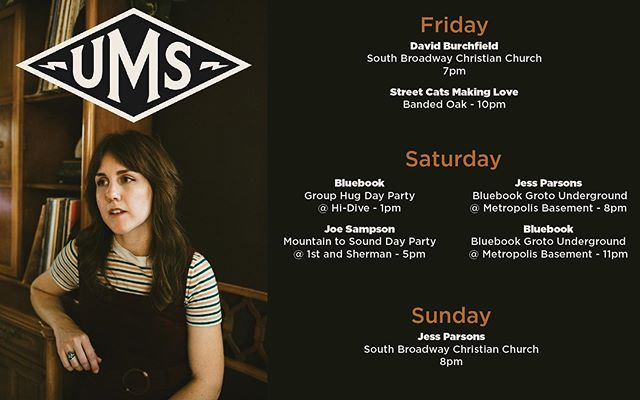 Playing a bunch of sets @theums this year! See you there 💕