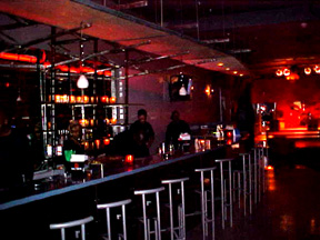 We opened our doors as a lounge/performance venue and invited people in to party.