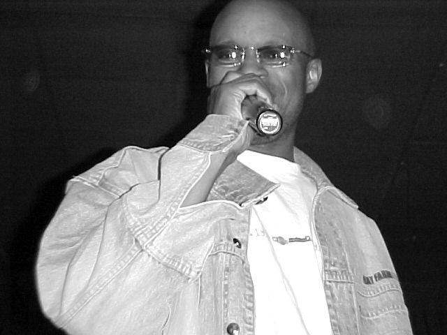 Def Poetry Jam on Broadway artist BLACK ICE
