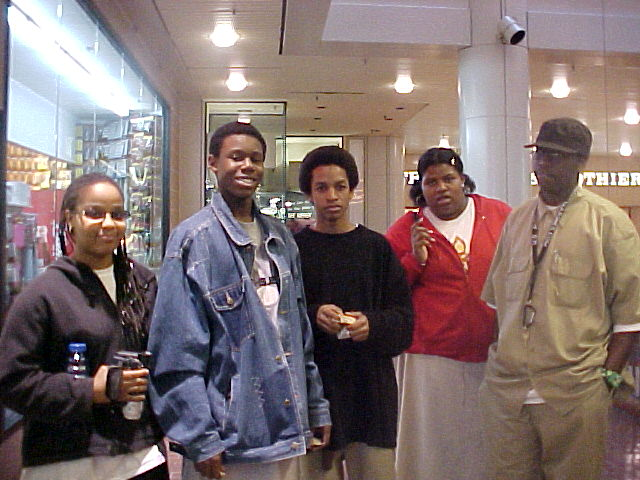 We started mentoring teens and working with them on a documentary about the Philly arts scene