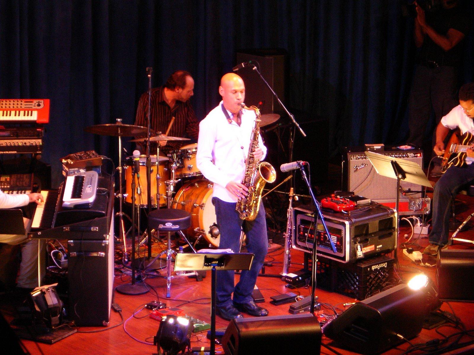 Captured local concerts like jazzman JOSHUA REDMAN