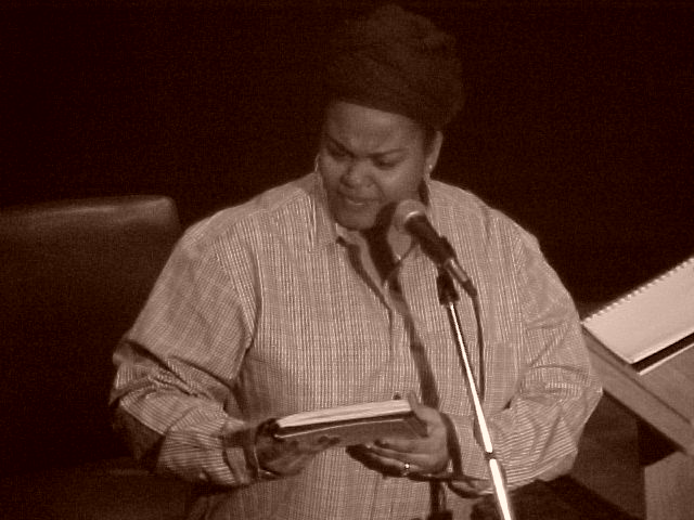 Even caught Jill Scott doing a poetry-only benefit show