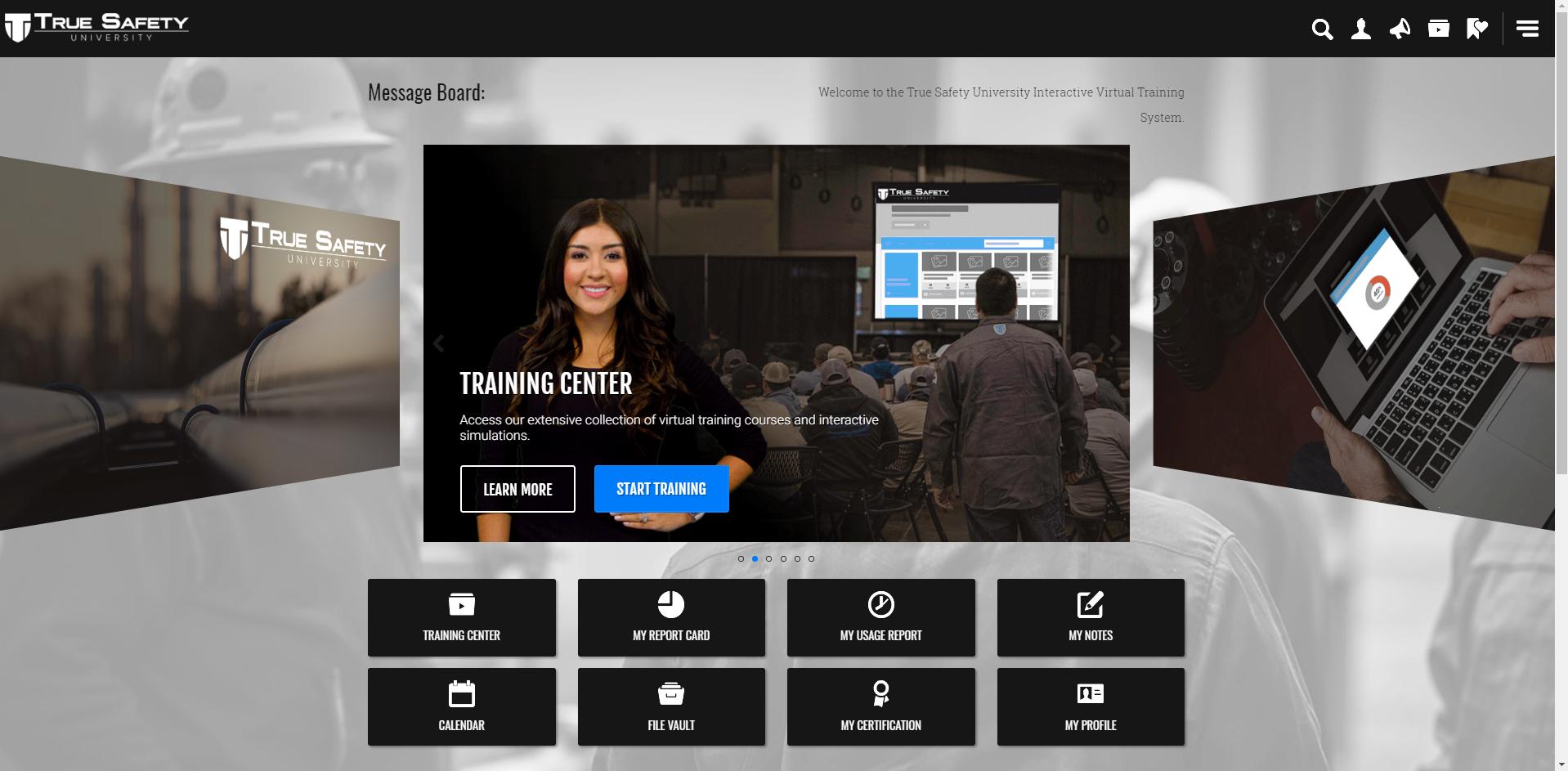 Online Training - User-friendly, virtual safety training.