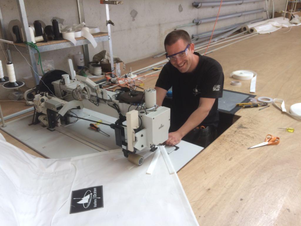 Alex - Roscoff   Responsable production Voiles-Océan