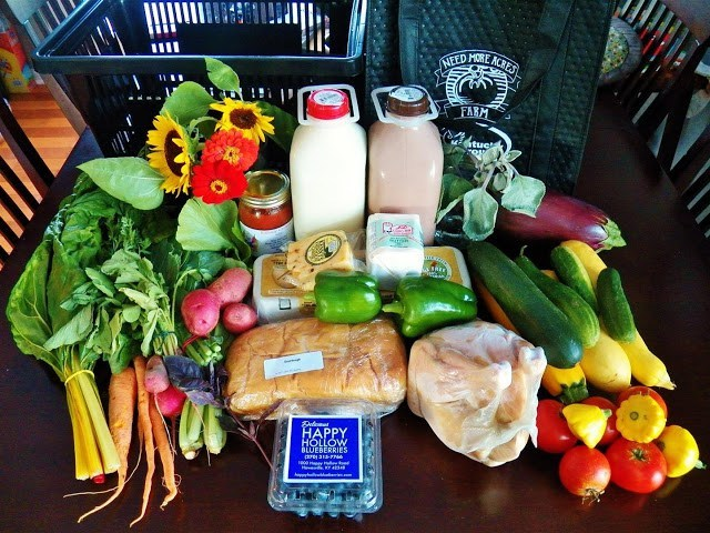 An image of real nutritious foods from Need More Acres Farm.