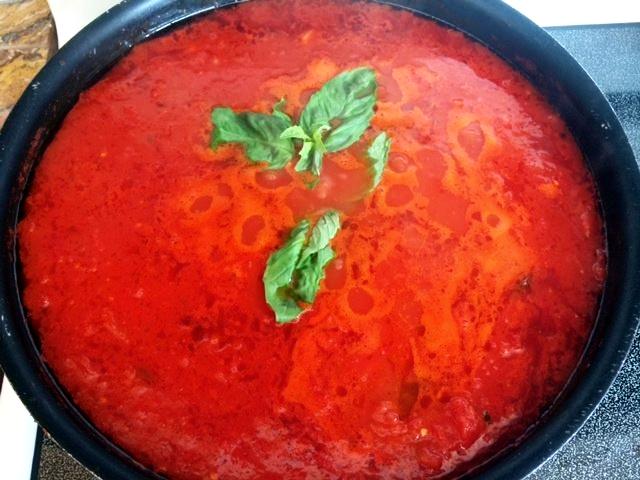 homemade vegan marinara sauce