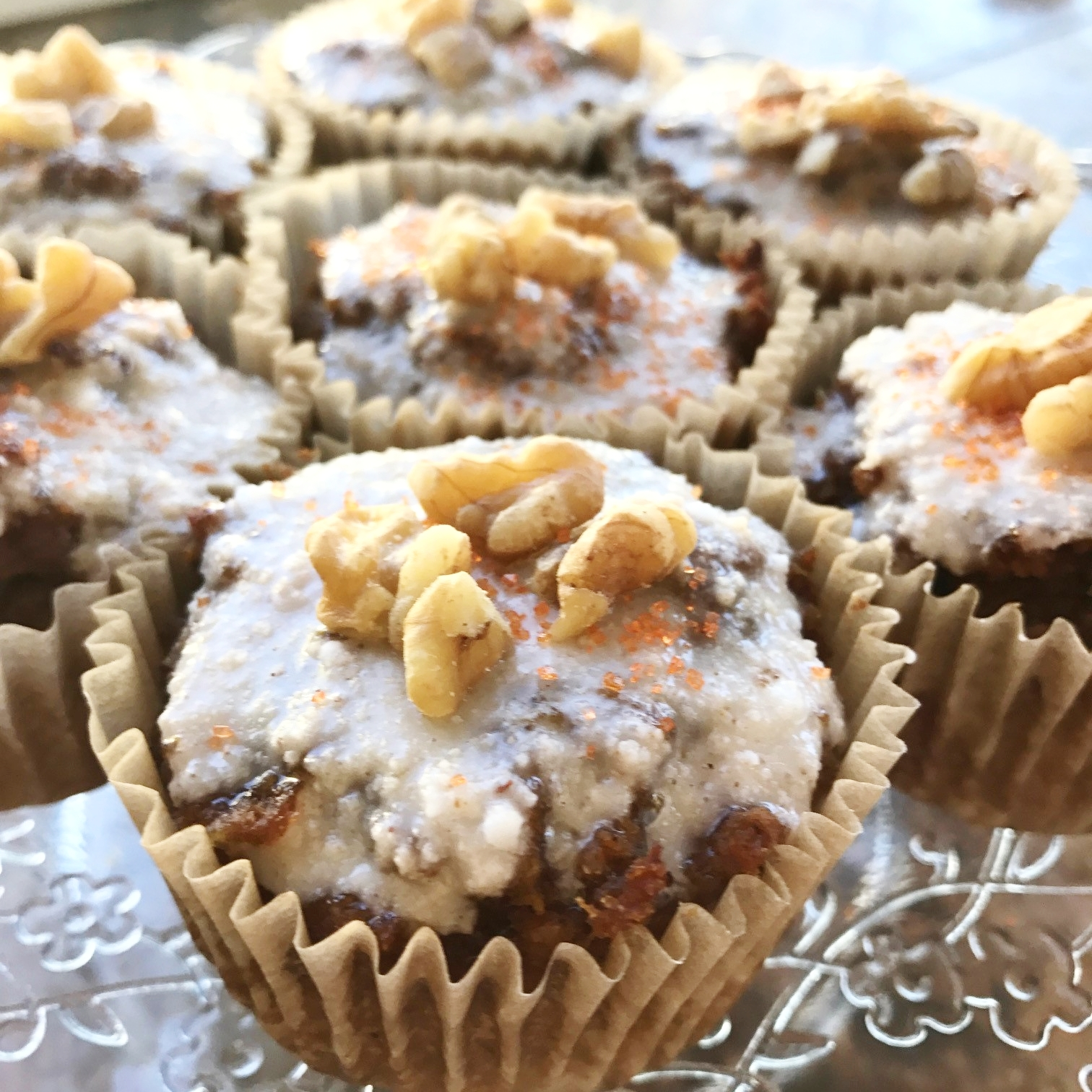 paleo gluten free healthy carrot cake