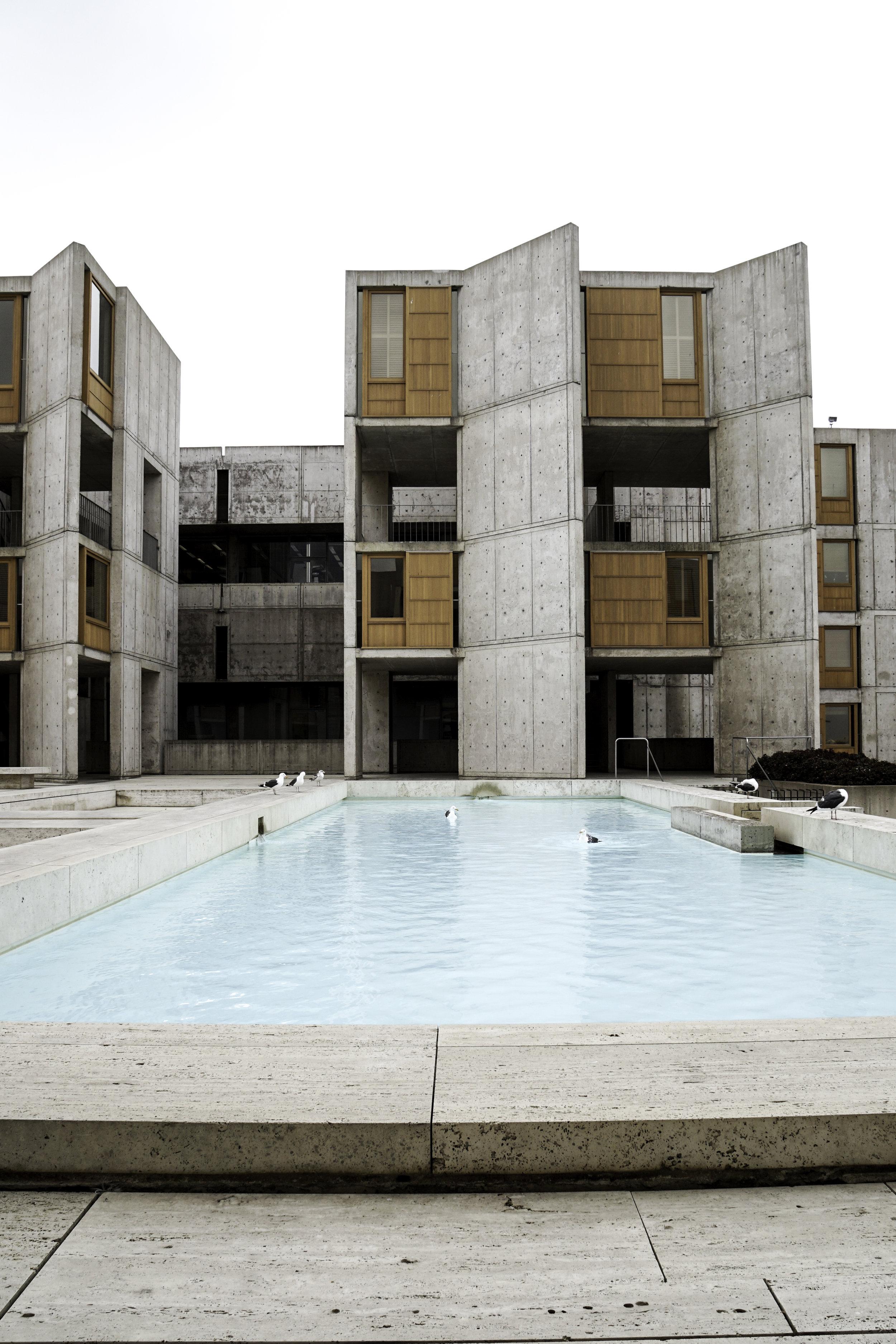 SALK INSTITUTE- Louis Kahn & Luis Barragan, 1963