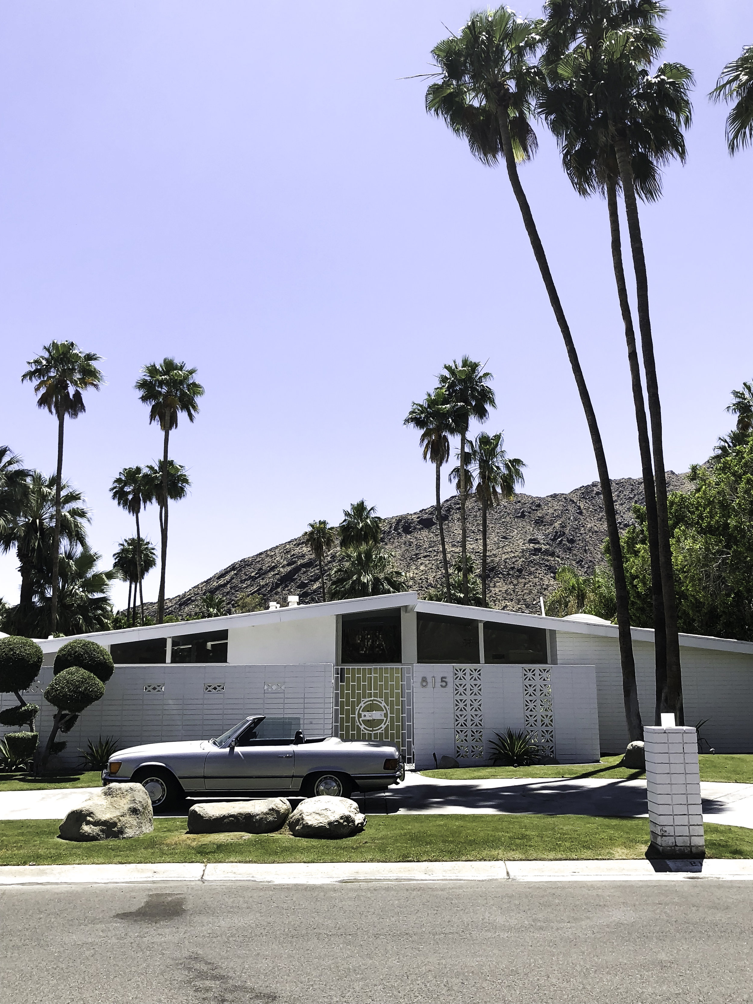 One of the ALEXANDER HOMES in Vista Las Palmas neighbourhood - Designed by architect William Krisel FAIA of Palmer & Krisel Developer/builder George and Robert Alexander of Alexander Construction Company