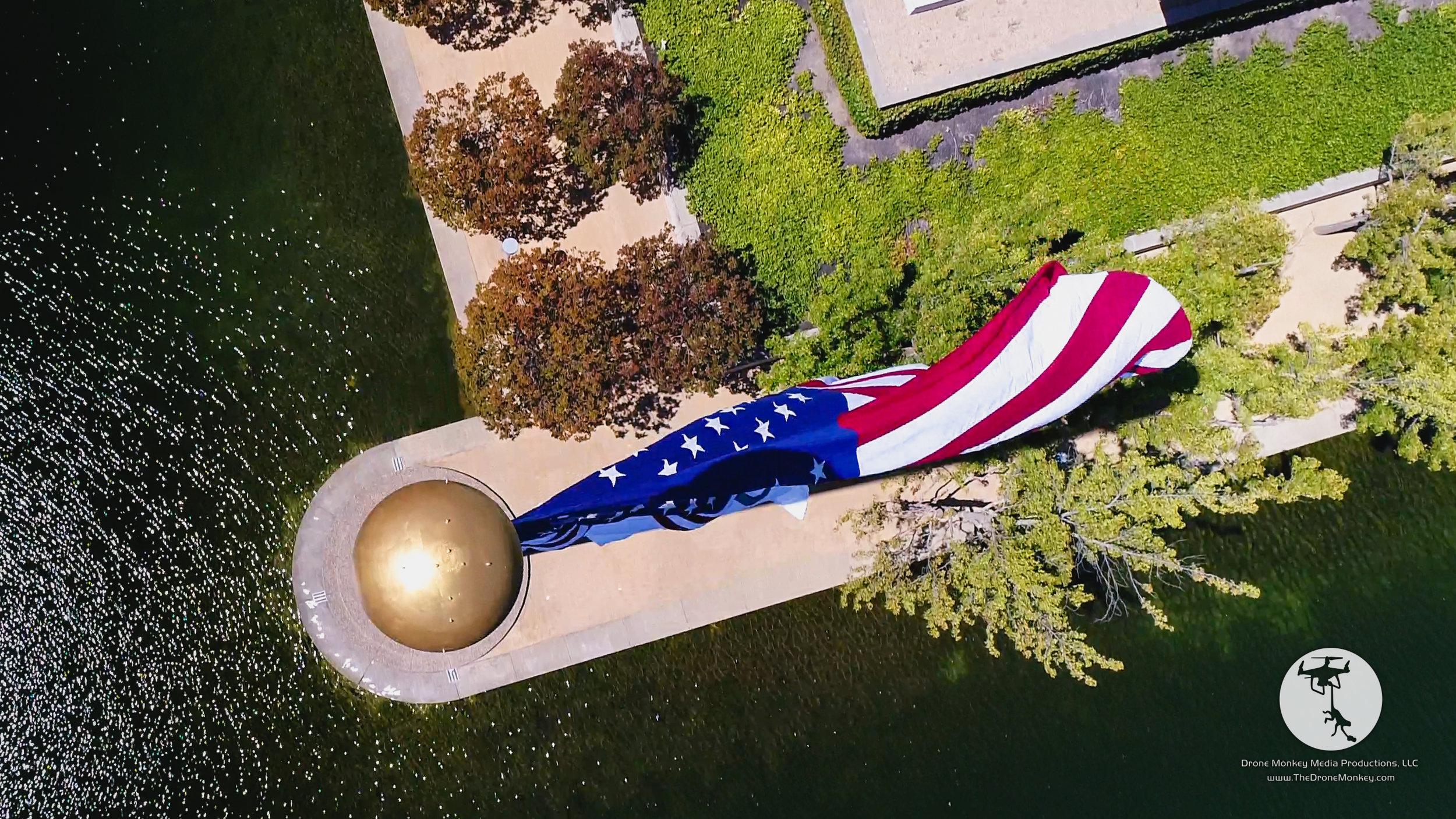 Bishop Ranch Lake Flag, San Ramon, CA