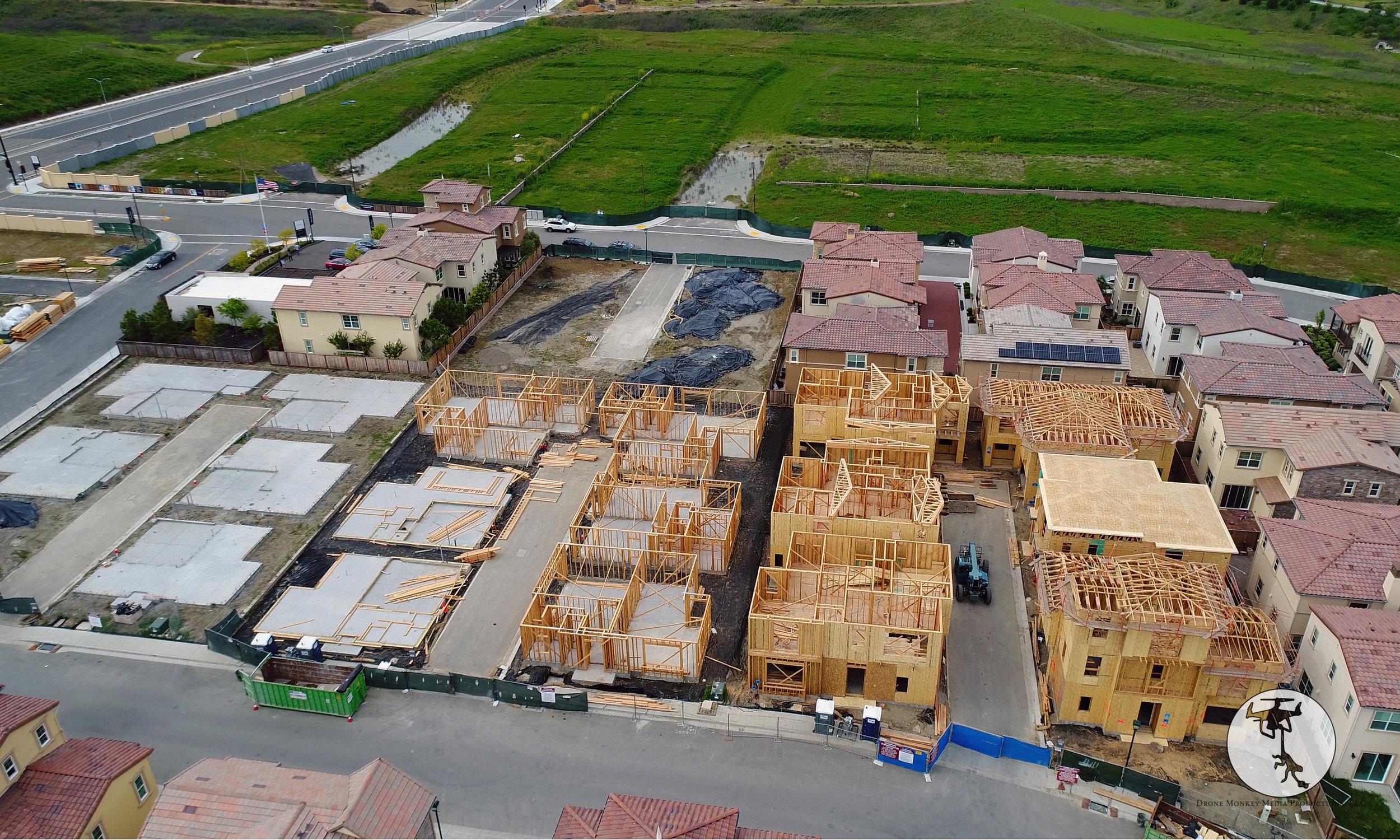 Subdivision Construction Progress